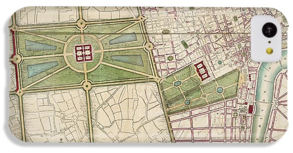 Hyde Park IPhone 5c Case by British Library