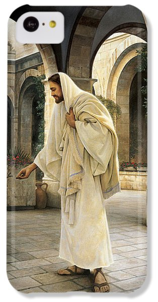 In His Constant Care IPhone 5c Case by Greg Olsen