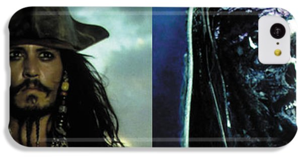 Jack Sparrow IPhone 5c Case by Jack Hood