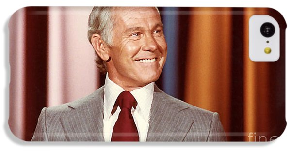 Johnny Carson IPhone 5c Case by Marvin Blaine