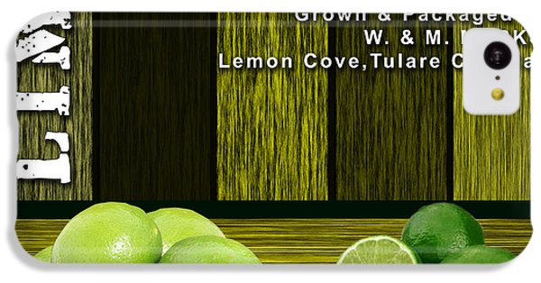 Lime Farm IPhone 5c Case by Marvin Blaine