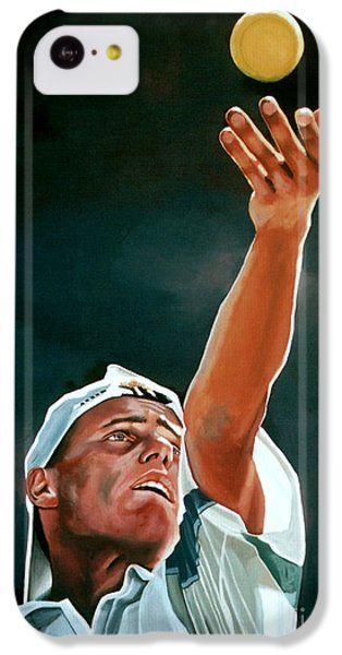 Lleyton Hewitt IPhone 5c Case by Paul Meijering