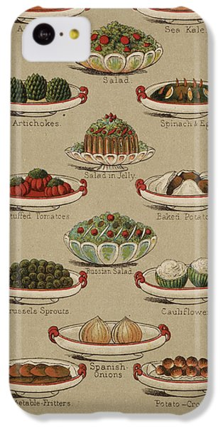 Mrs. Beeton's Family Cookery And Housekee IPhone 5c Case by British Library