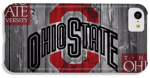 Ohio State Buckeyes IPhone 5c Case by Dan Sproul