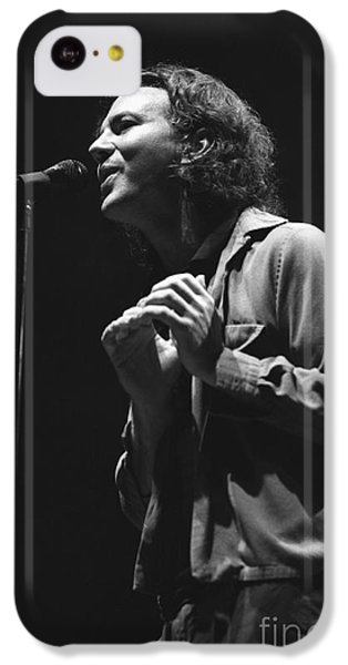 Pearl Jam IPhone 5c Case by Concert Photos