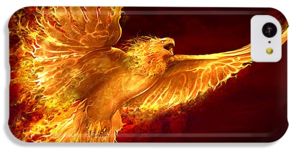 Phoenix Rising IPhone 5c Case by Tom Wood
