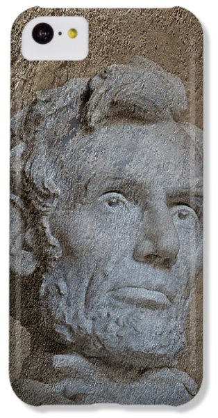 President Lincoln IPhone 5c Case by Skip Willits