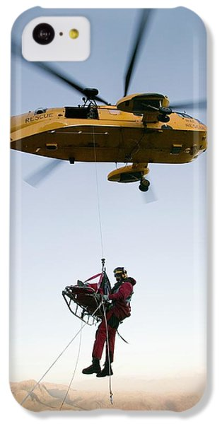 Raf Sea King Helicopter IPhone 5c Case by Ashley Cooper