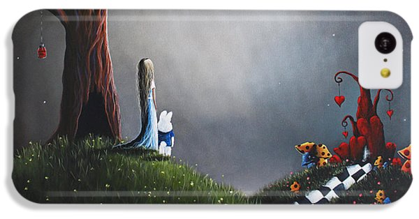 Alice In Wonderland Original Artwork IPhone 5c Case by Shawna Erback