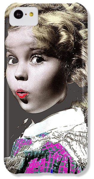 Shirley Temple Publicity Photo Circa 1935-2014 IPhone 5c Case by David Lee Guss