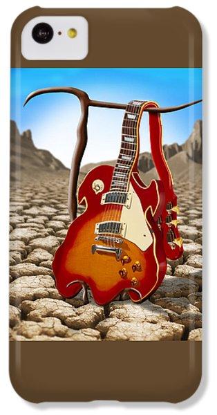 Soft Guitar II IPhone 5c Case by Mike McGlothlen