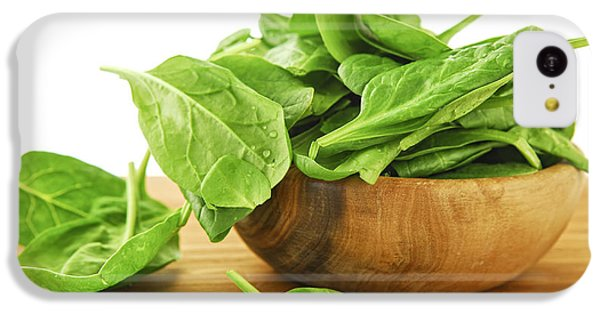 Spinach IPhone 5c Case by Elena Elisseeva