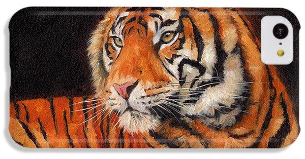 Sumatran Tiger  IPhone 5c Case by David Stribbling