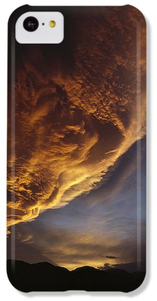 Sunset On Storm Clouds Near Mt Cook IPhone 5c Case by Ian Whitehouse