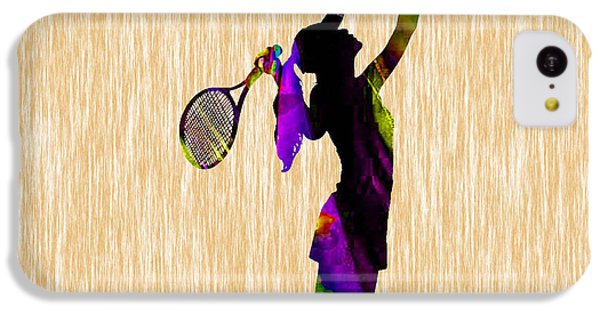 Tennis Match IPhone 5c Case by Marvin Blaine