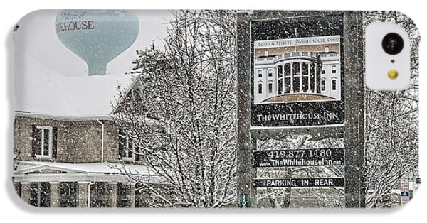 The Whitehouse Inn Sign 7034 IPhone 5c Case by Jack Schultz
