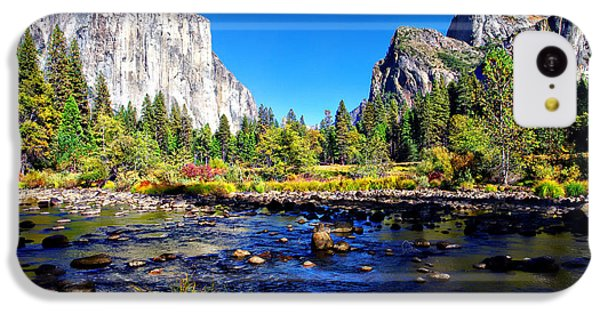Valley View Yosemite National Park IPhone 5c Case by Scott McGuire
