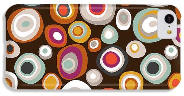 Veneto Boho Spot Chocolate IPhone 5c Case by Sharon Turner