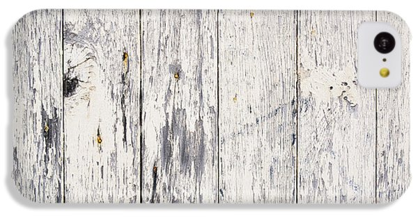 Weathered Paint On Wood IPhone 5c Case by Tim Hester