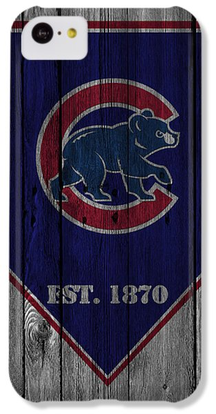 Chicago Cubs IPhone 5c Case by Joe Hamilton
