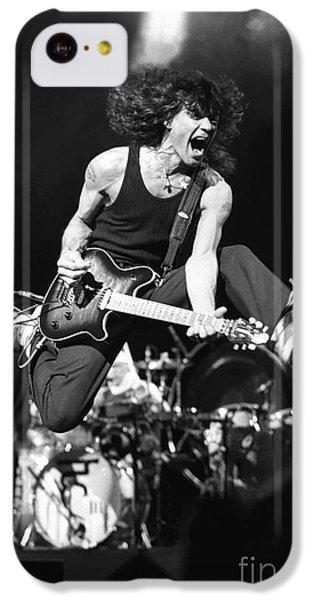 Van Halen - Eddie Van Halen IPhone 5c Case by Concert Photos