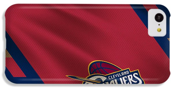 Cleveland Cavaliers Uniform IPhone 5c Case by Joe Hamilton