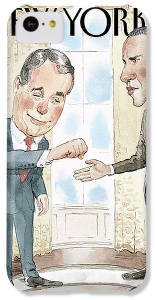 Untitled IPhone 5c Case by Barry Blitt