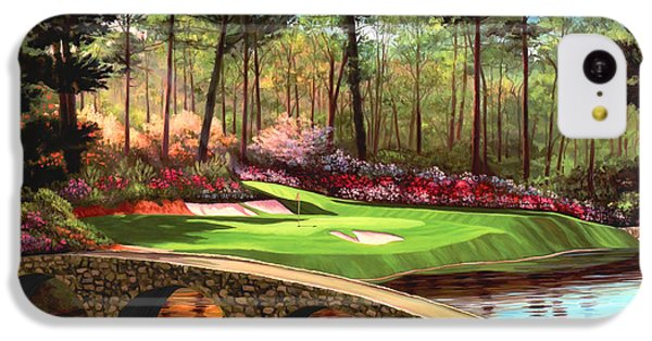 12th Hole At Augusta  IPhone 5c Case by Tim Gilliland