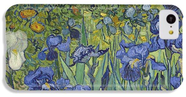 Irises IPhone 5c Case by Vincent Van Gogh