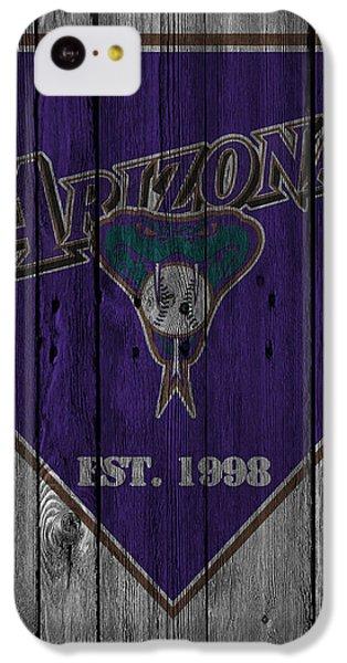 Arizona Diamondbacks IPhone 5c Case by Joe Hamilton