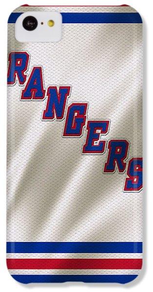 New York Rangers IPhone 5c Case by Joe Hamilton