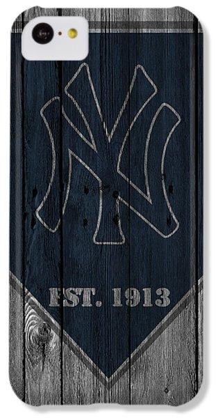 New York Yankees IPhone 5c Case by Joe Hamilton