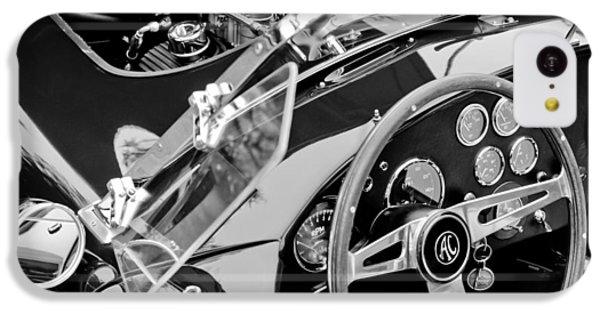 Ac Shelby Cobra Engine - Steering Wheel IPhone 5c Case by Jill Reger