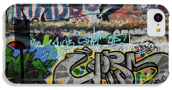 Artistic Graffiti On The U2 Wall IPhone 5c Case by Panoramic Images