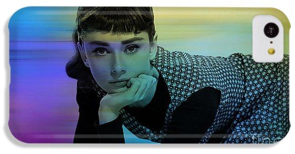 Audrey Hepburn Art IPhone 5c Case by Marvin Blaine