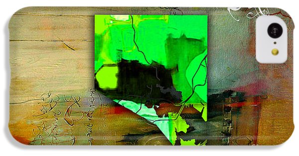 Baltimore Map Watercolor IPhone 5c Case by Marvin Blaine