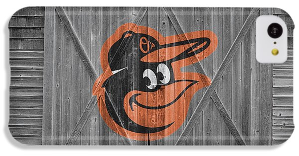 Baltimore Orioles IPhone 5c Case by Joe Hamilton
