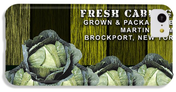 Cabbage Farm IPhone 5c Case by Marvin Blaine