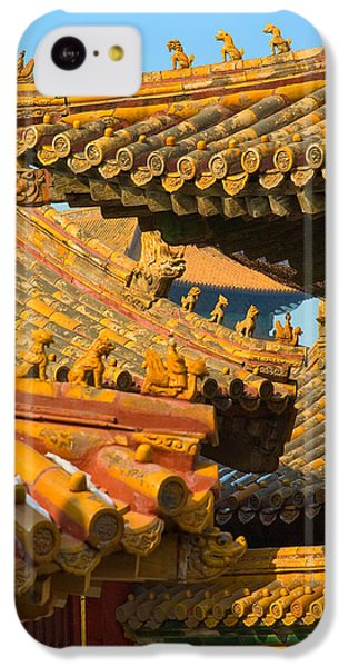 China Forbidden City Roof Decoration IPhone 5c Case by Sebastian Musial