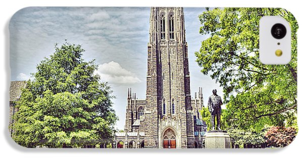 Duke Chapel In Spring IPhone 5c Case by Emily Kay