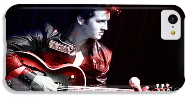 Elvis IPhone 5c Case by Marvin Blaine