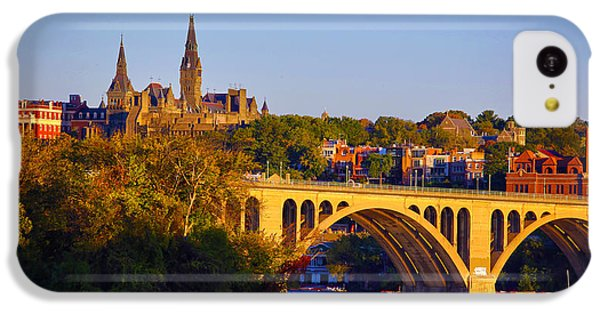 Georgetown IPhone 5c Case by Mitch Cat