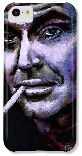 Jack Nicholson IPhone 5c Case by Andrzej Szczerski