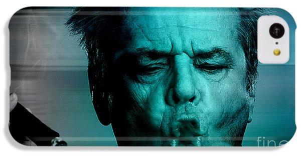 Jack Nicholson IPhone 5c Case by Marvin Blaine