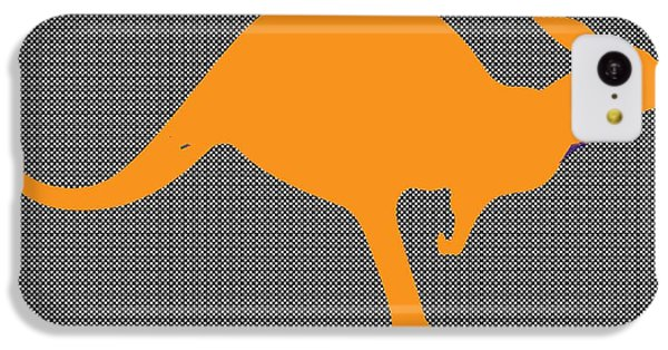 Kangaroo IPhone 5c Case by Manik