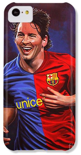 Lionel Messi  IPhone 5c Case by Paul Meijering