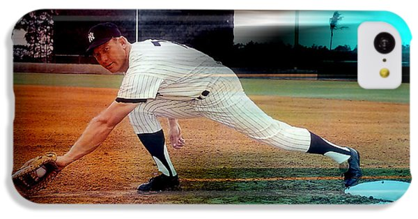 Mickey Mantle IPhone 5c Case by Marvin Blaine