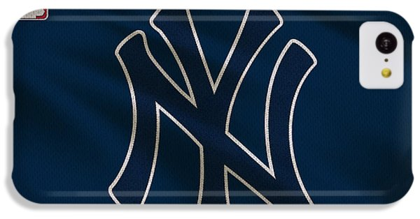 New York Yankees Uniform IPhone 5c Case by Joe Hamilton