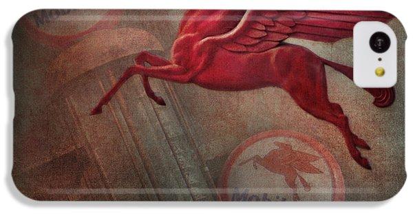 Pegasus IPhone 5c Case by David and Carol Kelly