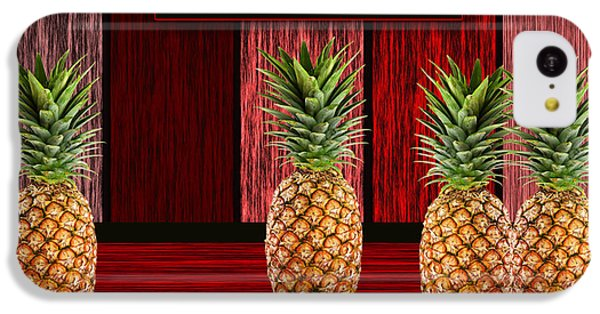 Pineapple Farm IPhone 5c Case by Marvin Blaine